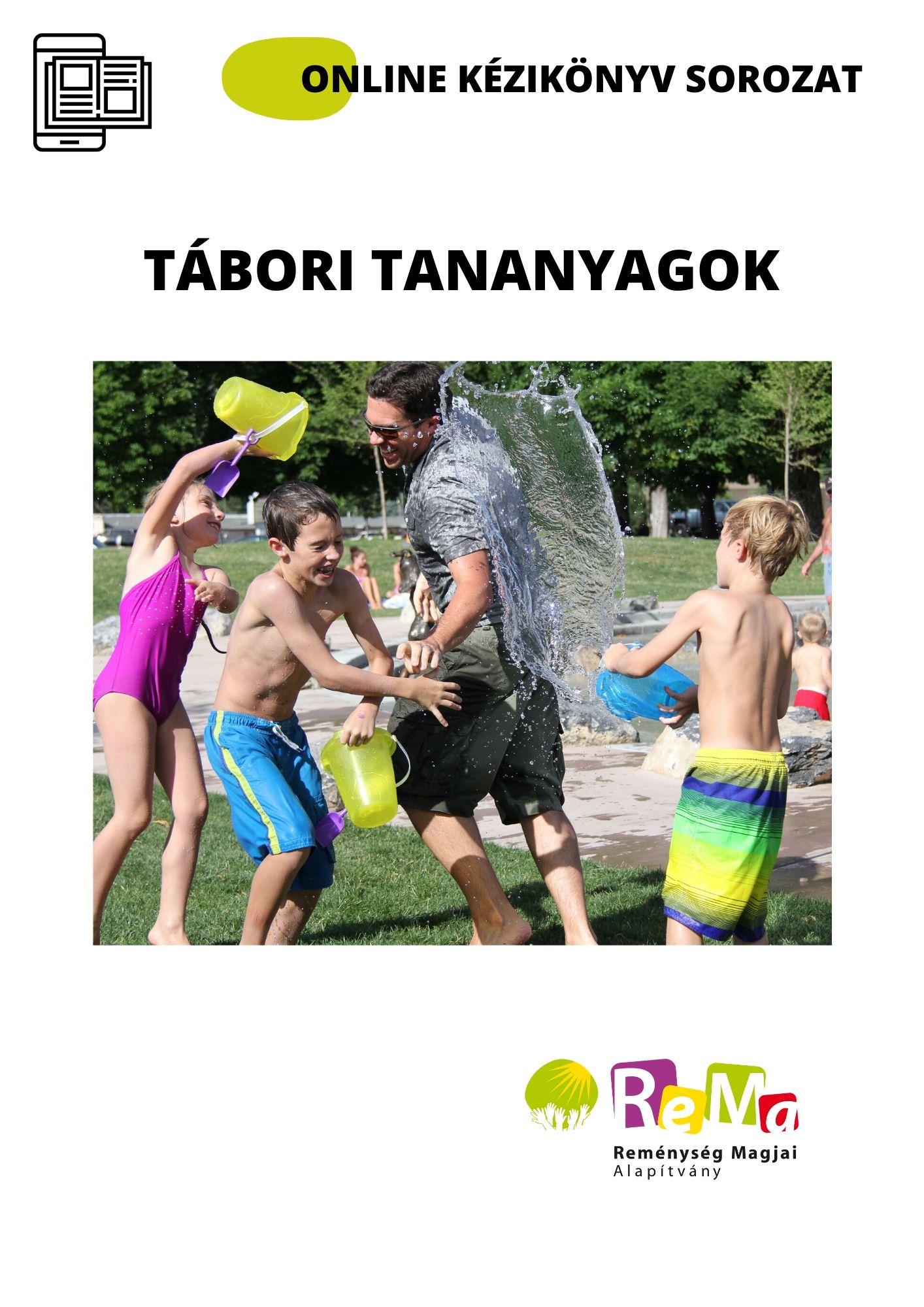 Tábori ONLINE tanítói kézikönyvek